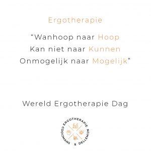 Wereld-Ergotherapie-Dag